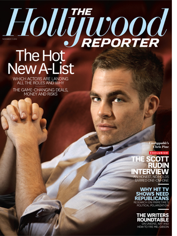 hollywoodreporter2010cover Chris covers The Hollywood Reporter