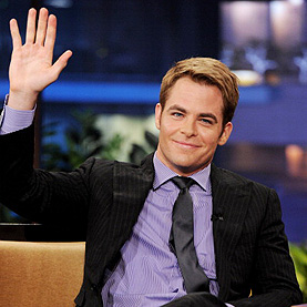 Chris Pine, Lisa Lampanelli And Anthony Hamilton On &quot;The Tonight Show With Jay Leno&quot;