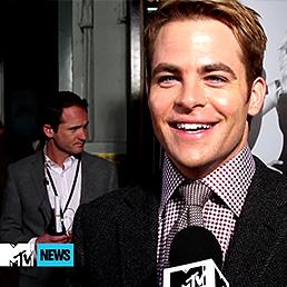 Chris is 'Grateful' To Have Benedict Cumberbatch On 'Star Trek' Cast