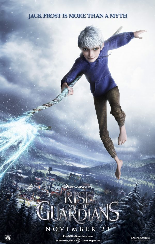 Jackfrost 600x941 All NEW Character Poster for Rise of the Guardians
