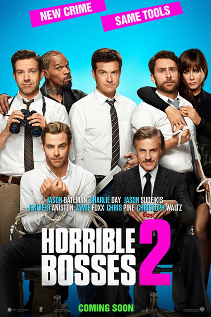 HB2 Poster Horrible Bosses 2 Gets In The Kidnapping Spirit For New Poster