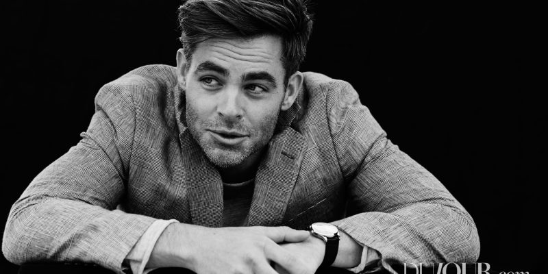 Dujour.com: The Many Faces of Chris Pine