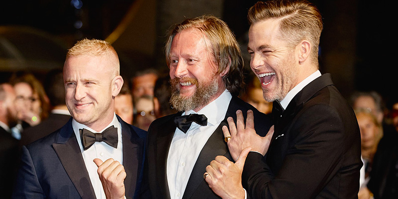 Chris Attends 'Hell or High Water' Premiere at Cannes