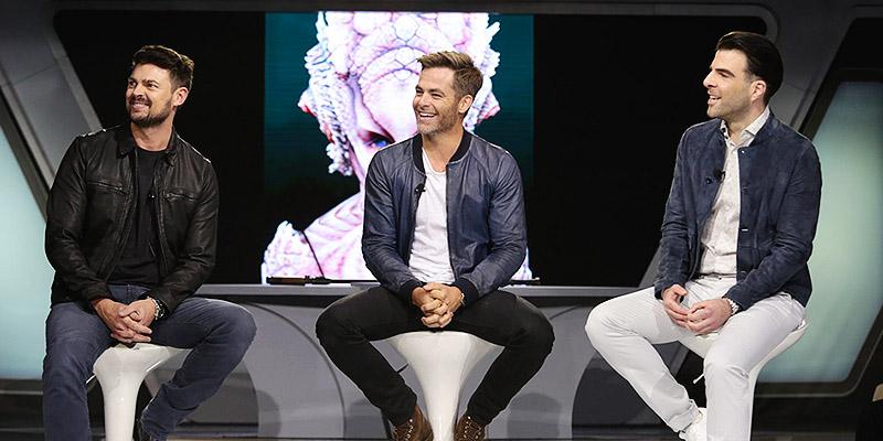 Chris Attends 'Star Trek Beyond' Fan Event
