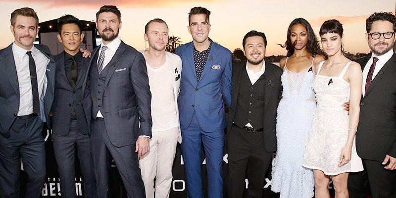 Chris Attends Comic-Con Premiere of 'Star Trek Beyond' in San Diego