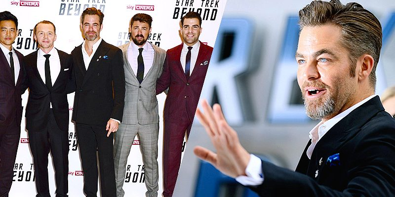 Chris Attends UK Premiere of 'Star Trek Beyond'