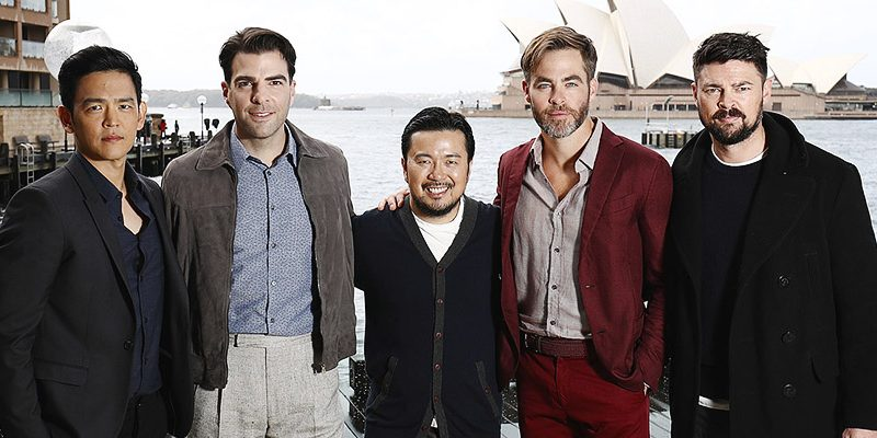 Chris Attends 'Star Trek Beyond' Photocall in Sydney, Australia