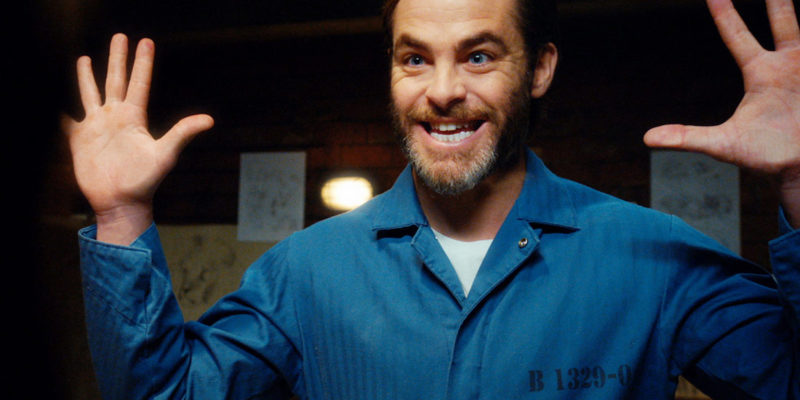 "Screencaptures: Chris Pine in ""Angie Tribeca"""
